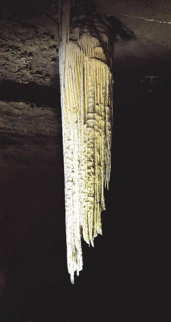 Doolin Cave Tour Stalactite