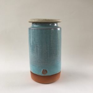 Lidded Jar by Doolin Cave Pottery