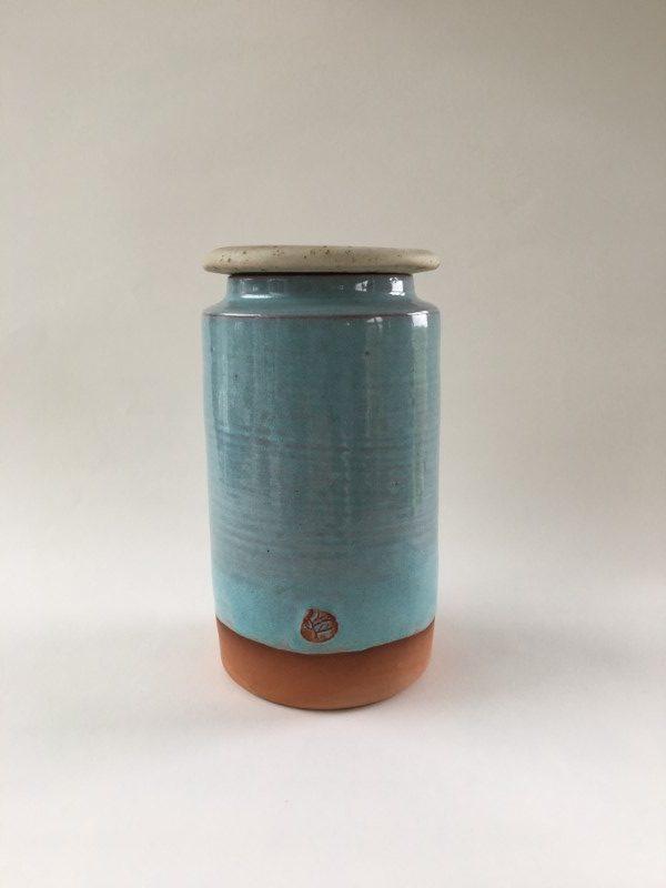 Lidded Jar by Doolin Cave Pottery