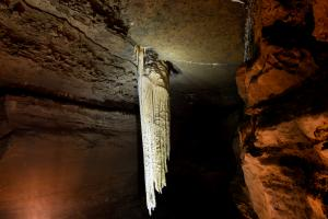The Great Stalactite at Doolin Cave